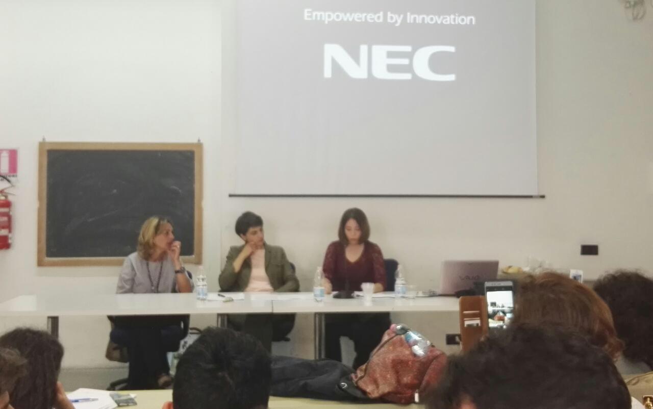 Lettura del tema Primo classificato Antonia Puzone Liceo Carducci di Nola
